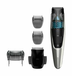 Electric Trimmer Vacuum Mens Beard Head Kit Set Corded Barbe