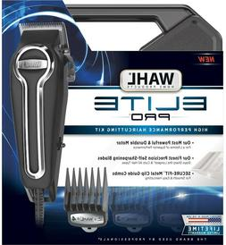 Wahl Elite Pro Clippers Complete Hair Cutting Kit #79602 - b