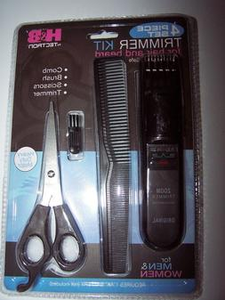 Four piece Hair and Beard  Cordless Trimmer Set