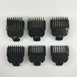 Wahl Lithium Ion Trimmer Beard Stubble Guide Comb Set 1/16 1