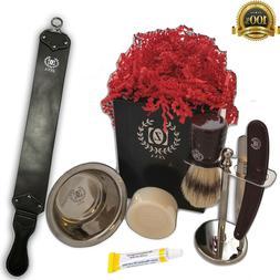 Grooming Shaving Trimmer Knife Set Mens Mustache Beard Kit B