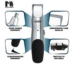 groomsman 05622 rechargeable beard mustache hair nose