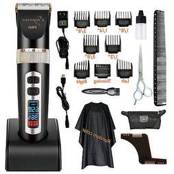 Professional hair clipper, ultra quiet design, 2000mAH Li-io