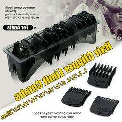 Hair Clipper Guide Comb Set Standard Guards Attach Trimmer S