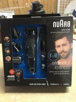 Braun Hair Clippers for Men MGK3080, 9-in-1 Beard Trimmer, N