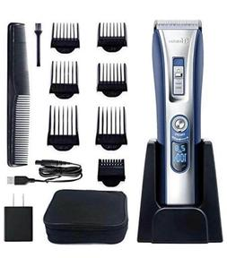 HATTEKER Hair Trimmer Cordless Hair Clippers Beard Trimmer K