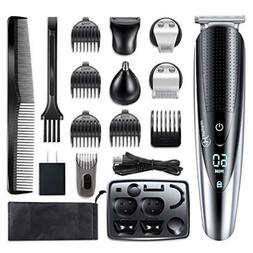 Hatteker 5IN1 Men Beard Trimmer Body Mustache Hair Trimmer N