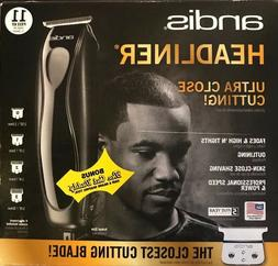 Andis Headliner 11 Pc. Hair Clipper Beard Trimmer Kit Black