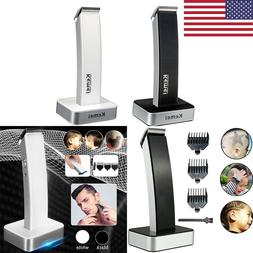 KEMEI Hair Clipper Wireless Electric Rechargeable Trimmer Be