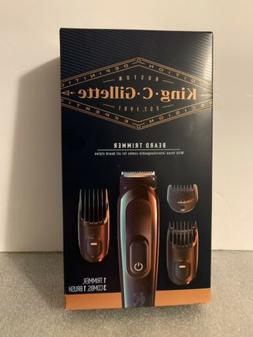 King C Gillette Beard Trimmer 3 Comb 1 Brush Brand New In Th