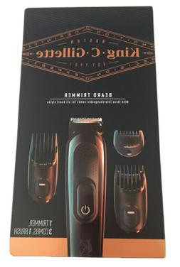 King C Gillette Beard Trimmer 3 Combs, 1 Brush by Braun LIMI