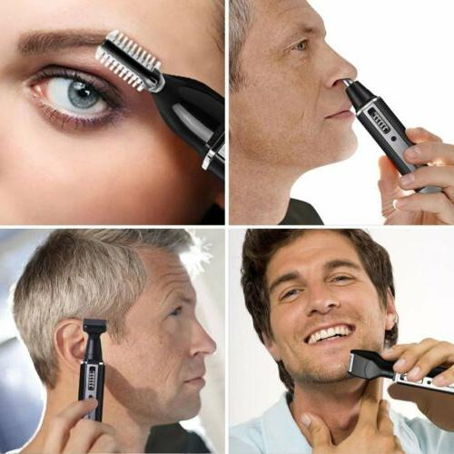 4 Hair Nose Trimmer Electric Shave