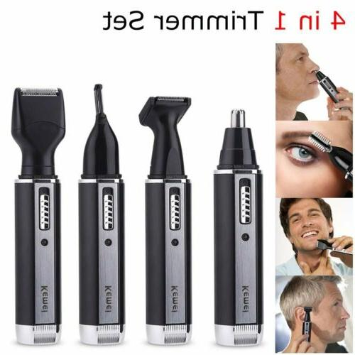 4 in 1 rechargeable hair beard eyebrow