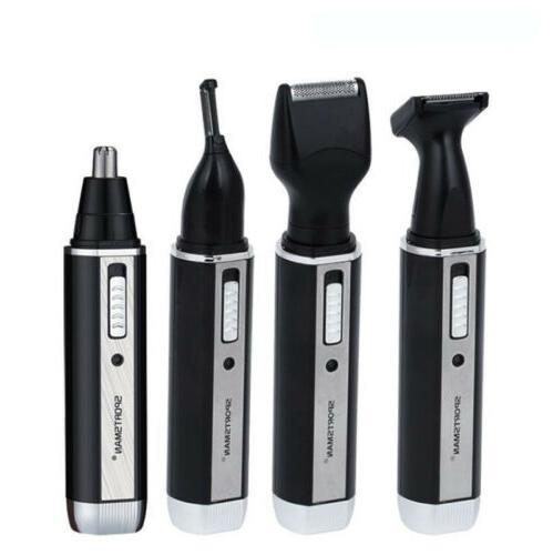 4 in 1 Rechargeable Hair Electric Ear Nose Eyebrow Shaver