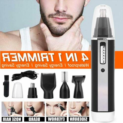 4 in 1 rechargeable hair trimmer electric