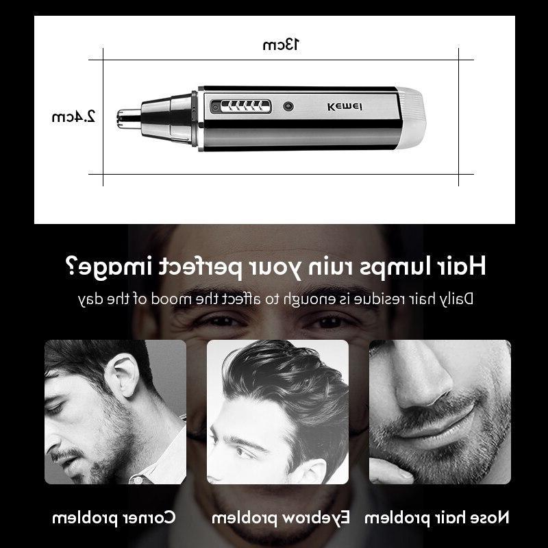 4 Men Ear Hair <font><b>Trimmer</b></font> trimming eyebrows hair clipper cut Shaver