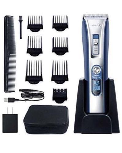 5 in 1 rechargeable hair clipper beard