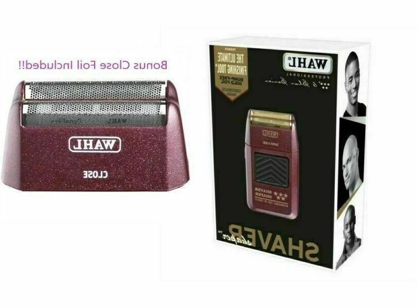 5 star series rechargeable shaver