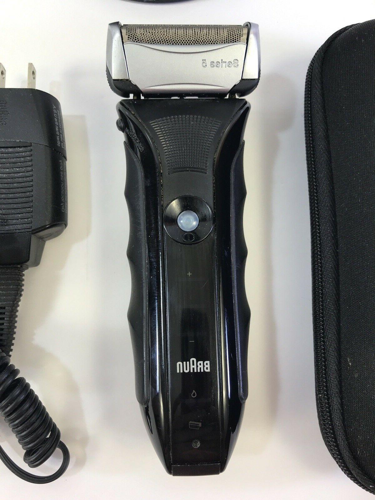 Braun 5 Cordless Rechargeable Men's Shaver 550