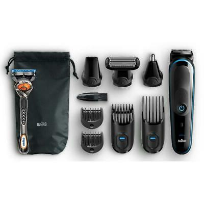 Braun 9-in-1 Beard Trimmer Shaver & Clipper, Body Nose
