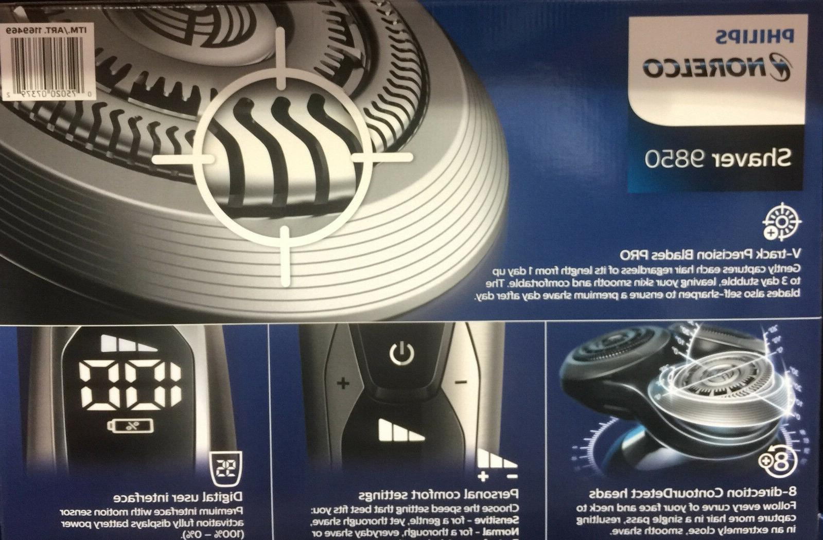 Philips 9000 Shaver 9850+ Trimmer 9800