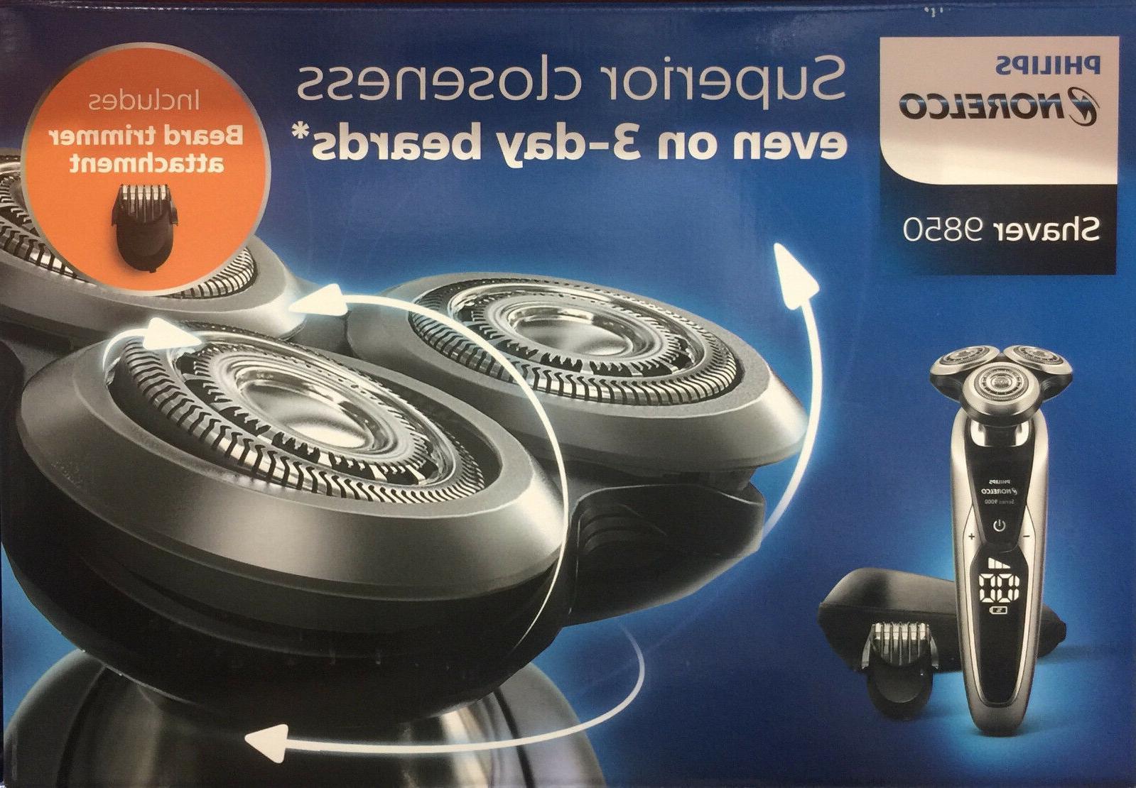 9000 series shaver 9850 beard stubble trimmer