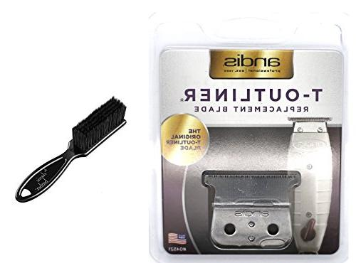 Andis T-Outliner Replacement Beard/Hair Trimmer Blade, Silve