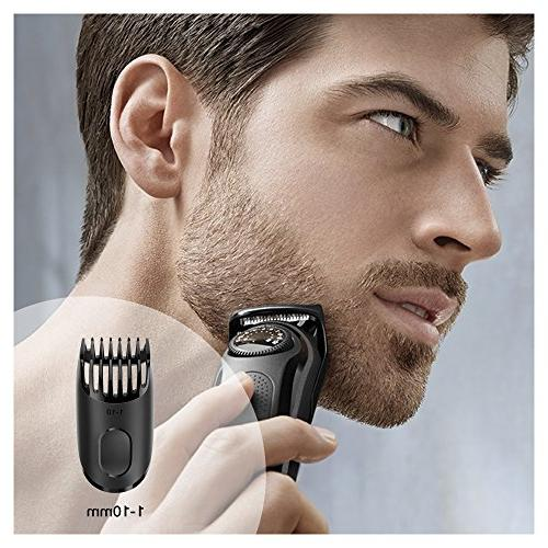 Braun BT3020 Men's Beard Trimmer, Precision Includes