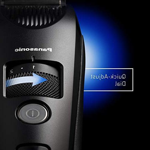 Panasonic Beard Trimmer for Men Comb Attachment Adjustable Settings,