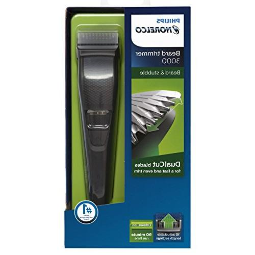 Philips Norelco Beard BT3210/41 - cordless grooming, rechargable, adjustable stubble,