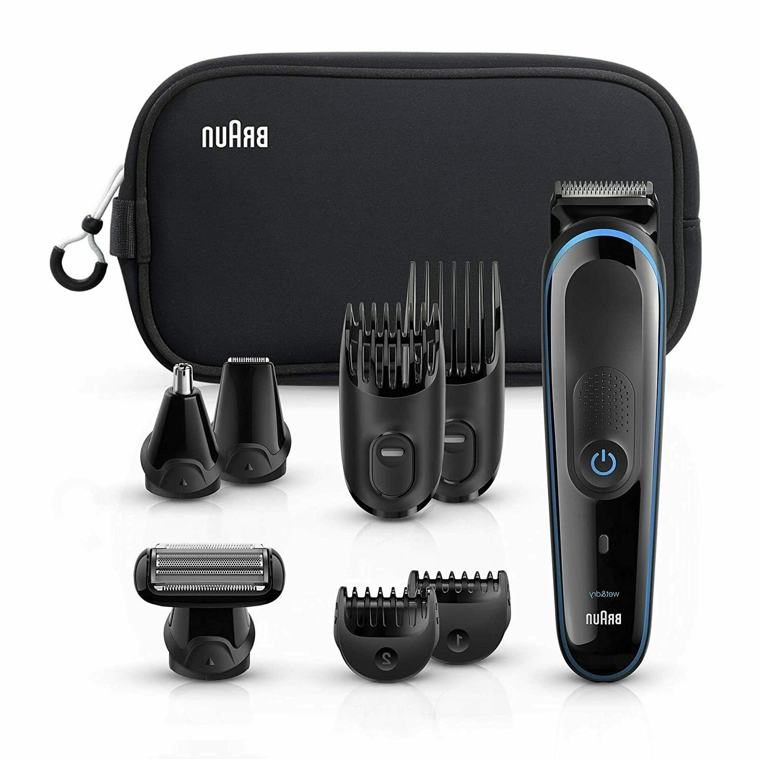 Braun 9-in-1 All-In-One Trimmer MGK3980TS Beard Trimmer & Ha