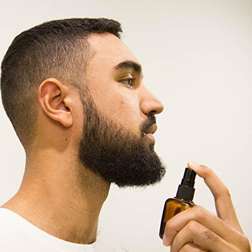 Beard Oil for Men & Beard - Help Beard All - - Oil Spray Beard | Beard Beard Conditioner Softener
