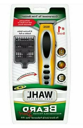 beard rechargeable yellow trimmer sport 9953 200