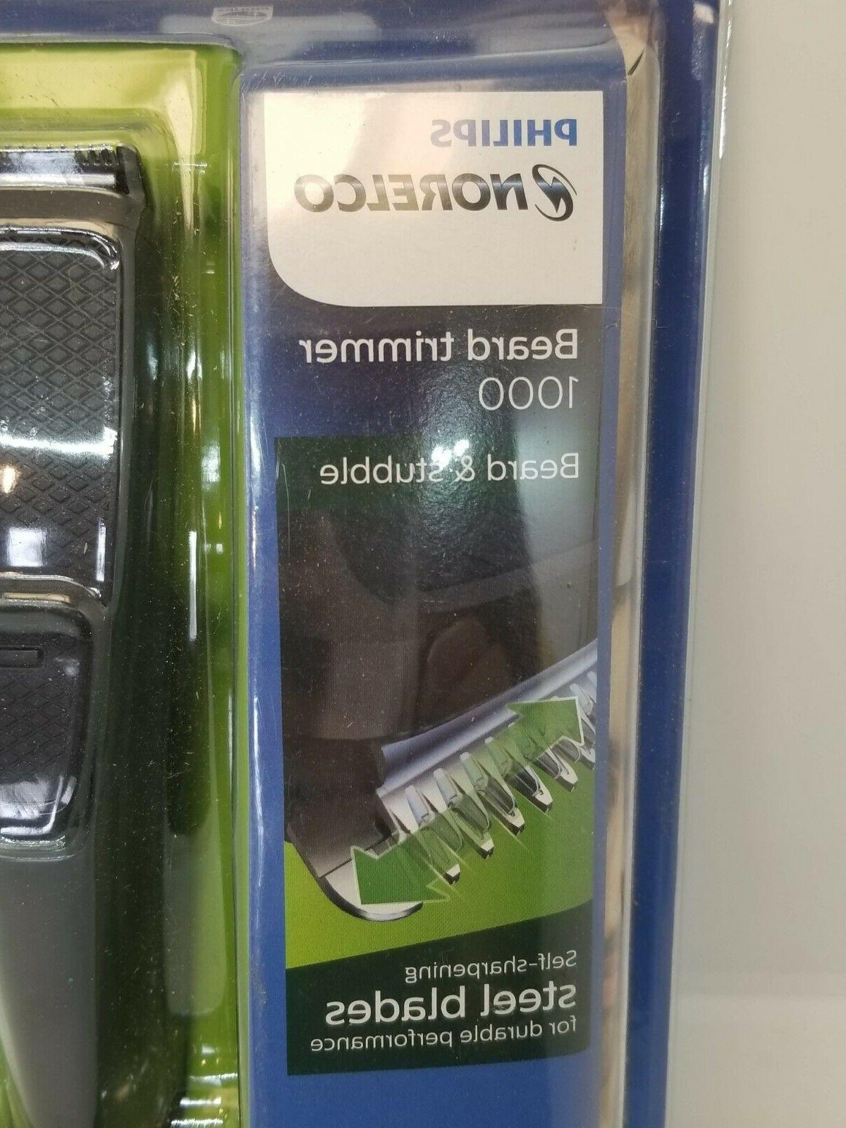 Philips Norelco trimmer 1000 self-sharpening steel blades