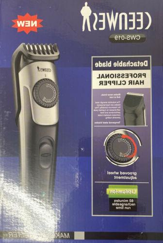 beard trimmer and hair clipper rechargable lifetime