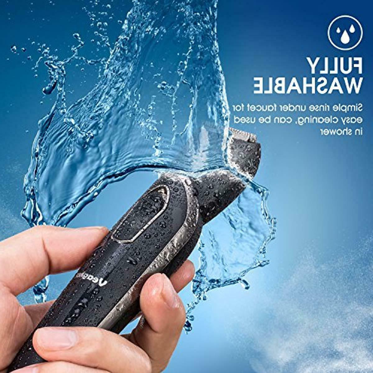 Beard Grooming Kit ,Cordless Electric Hair 5