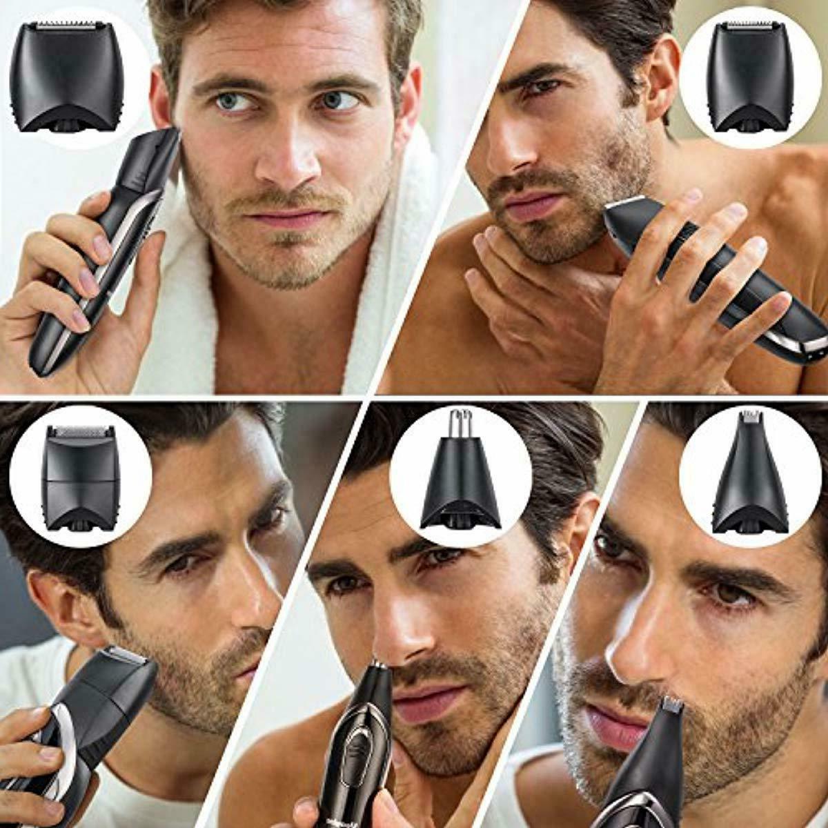 Beard ,Cordless Electric Hair 5 in 1, Waterproof