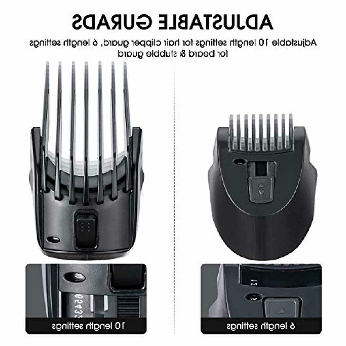 Beard Trimmer Grooming ,Cordless Electric Hair Clipper