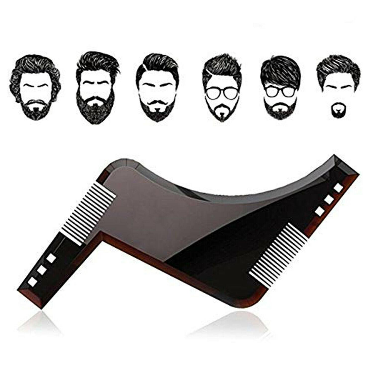 Beard Hairline Cutting Guide Hair Liners Edger Tool Edging