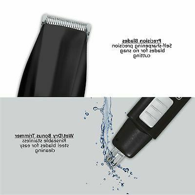 Beard Trimmer With Personal Trimmer Carbon Steel Duty
