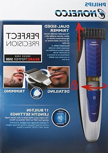 Philips BeardTrimmer 5100, mustache