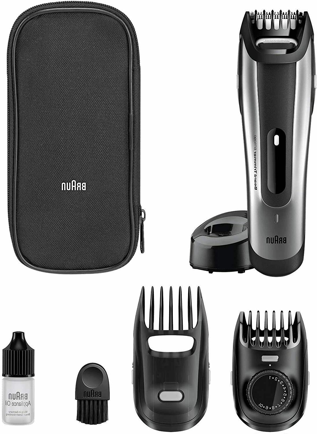 brown beard trimmer and trimmer bt5090 precision