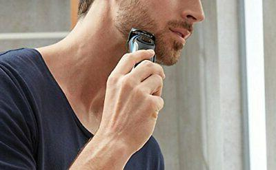 Brown electric / beard 0.5mm and adjustme