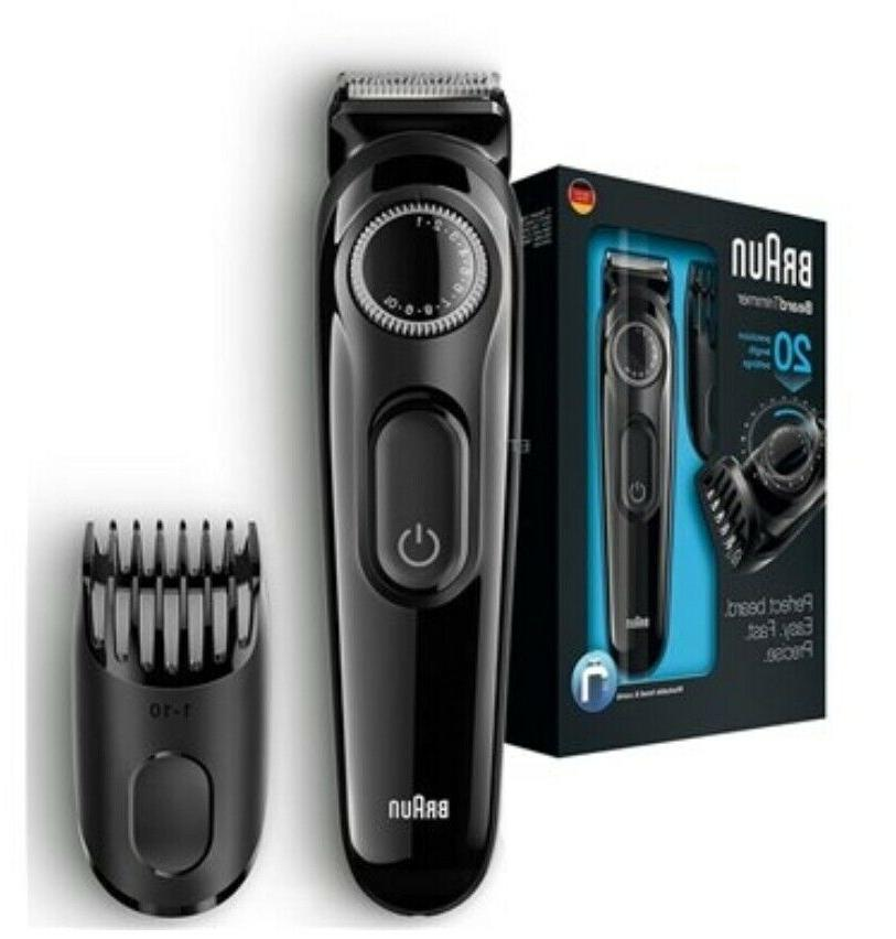 BRAUN 20 length Rechargeable Cordless