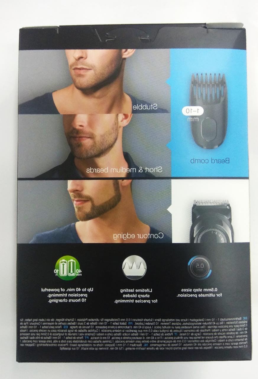 BRAUN Beard 20 settings Rechargeable Cordless