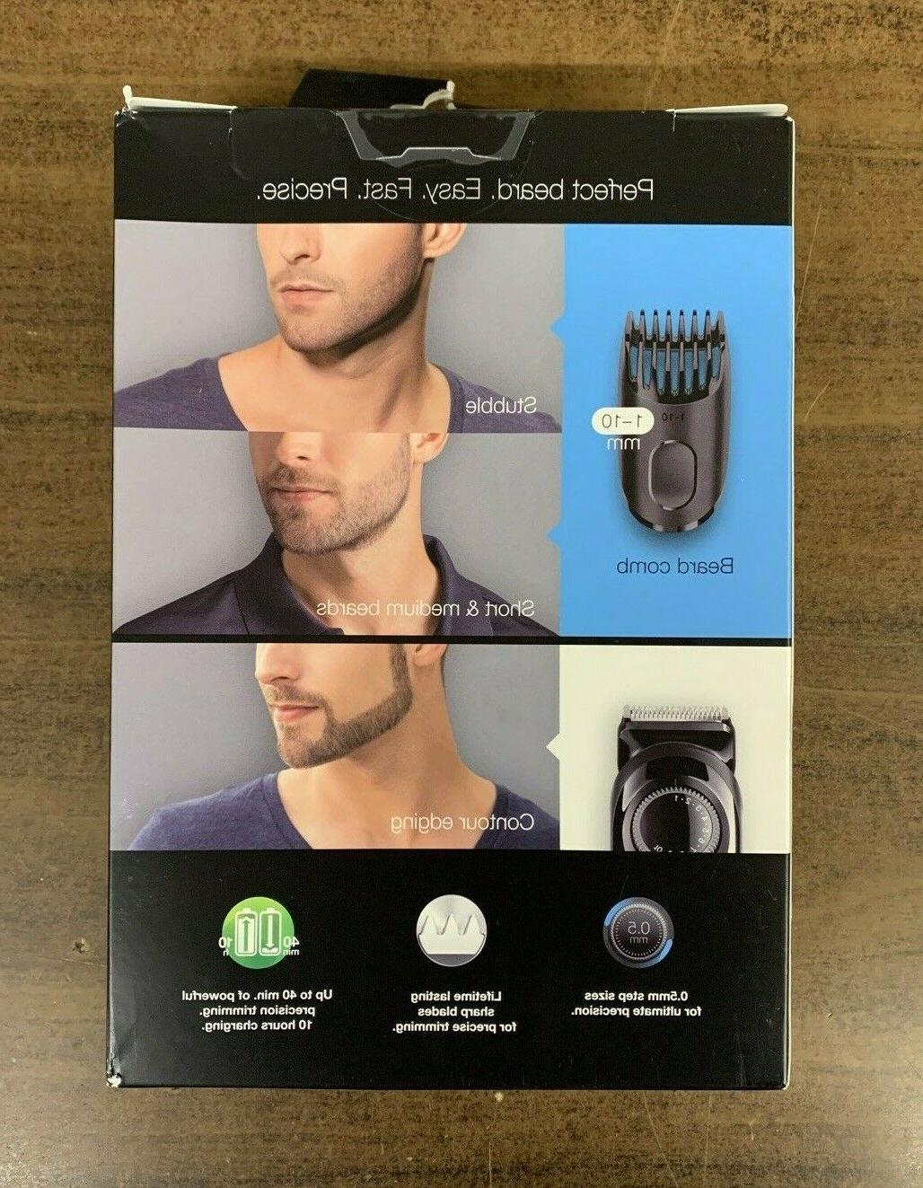 Braun Cordless Trimmer - Black In The BOX