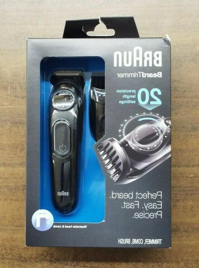bt3020 men s beard cordless rechargeable trimmer