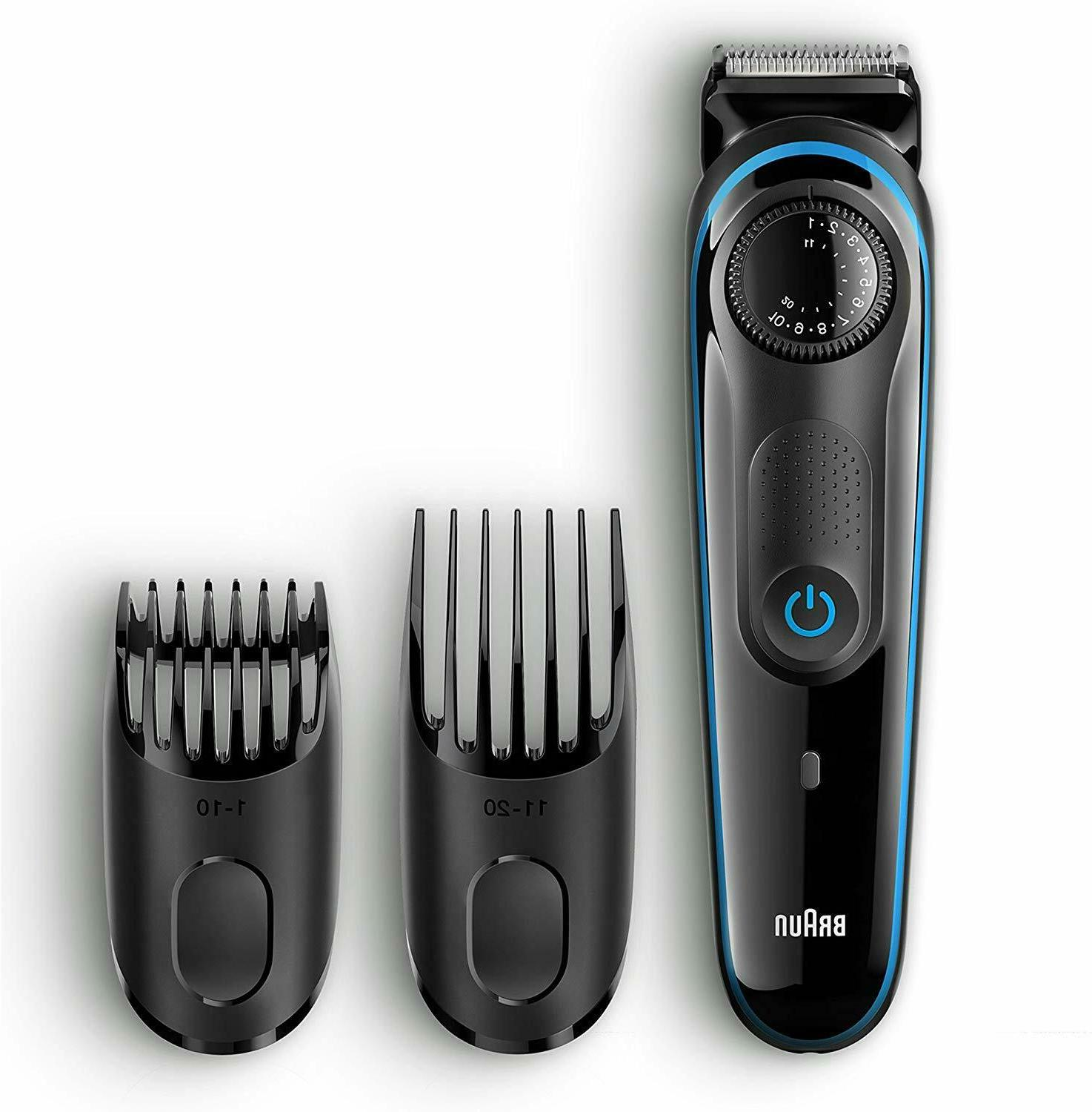 Braun Hair Trimmer with Free Gillette Fusion Glide