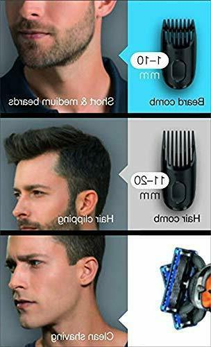 Braun BT3040 Beard Trimmer for Men with Free Gillette Fusion Glide