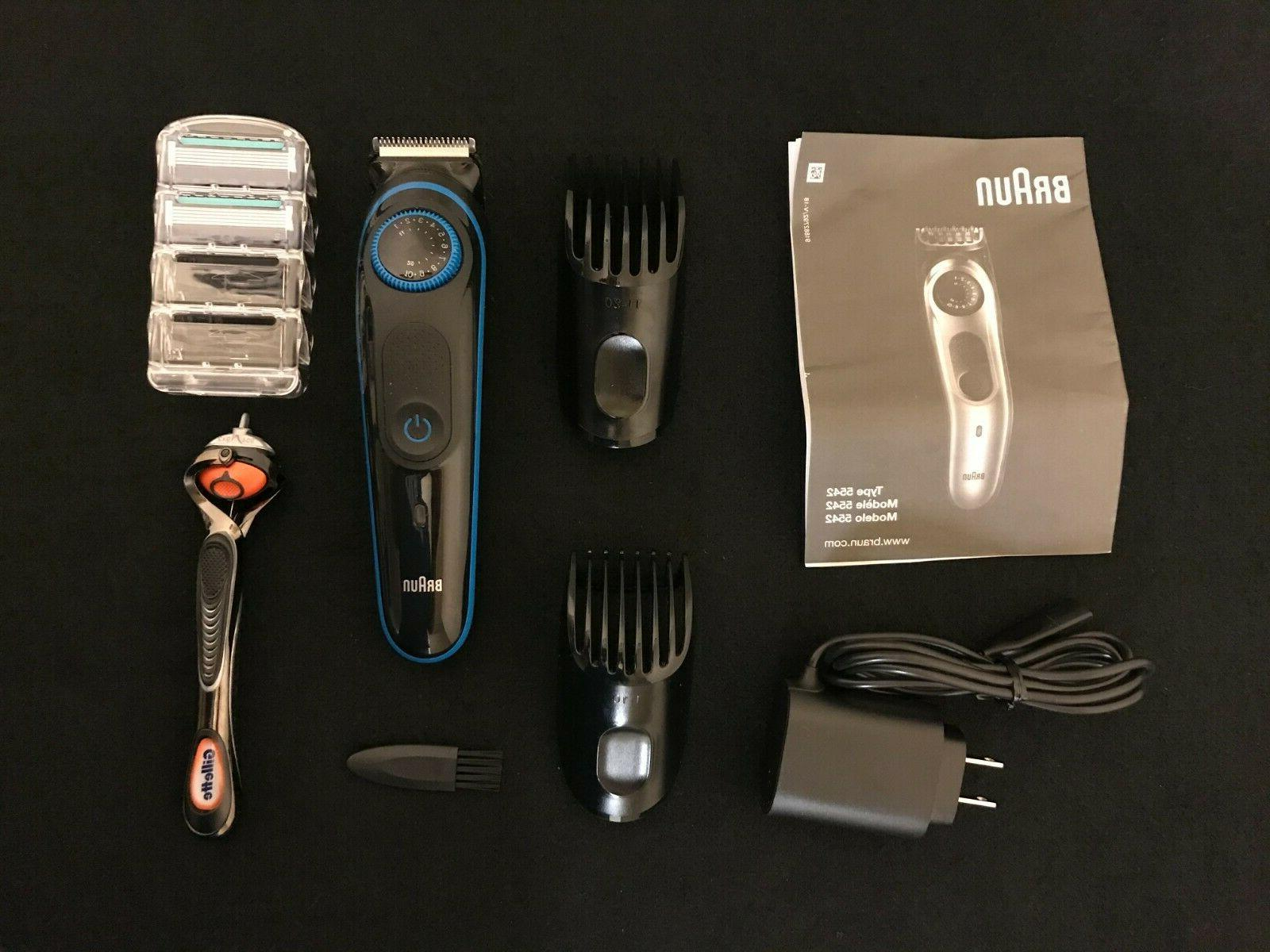 Braun Cordless Beard Trimmer Hair Adjustable